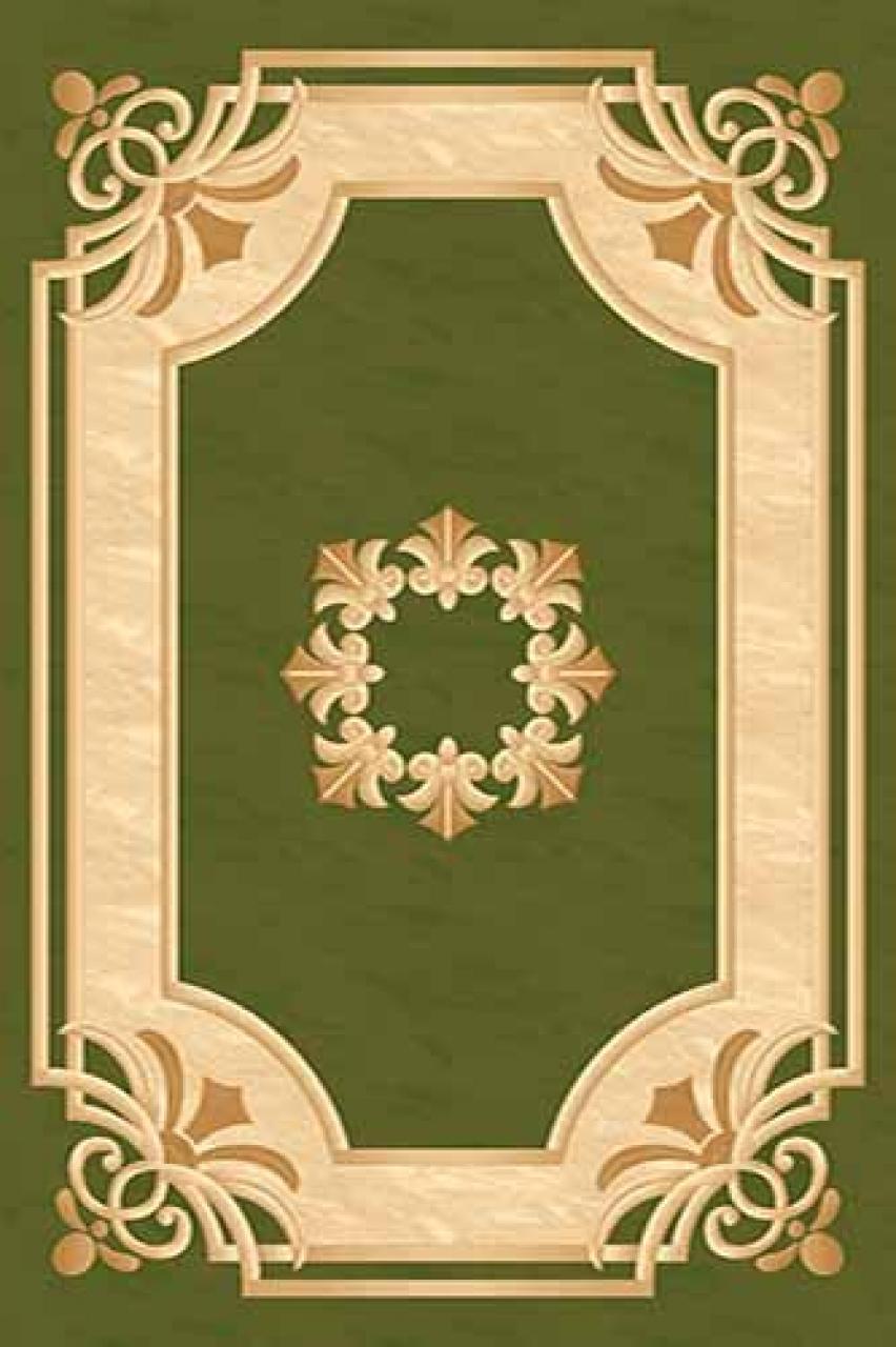 Ковер 5333 - GREEN - Прямоугольник - коллекция KAMEA