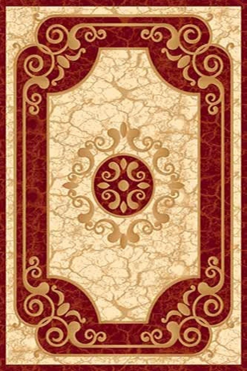 Ковер d045 - RED - Прямоугольник - коллекция KAMEA - фото 1
