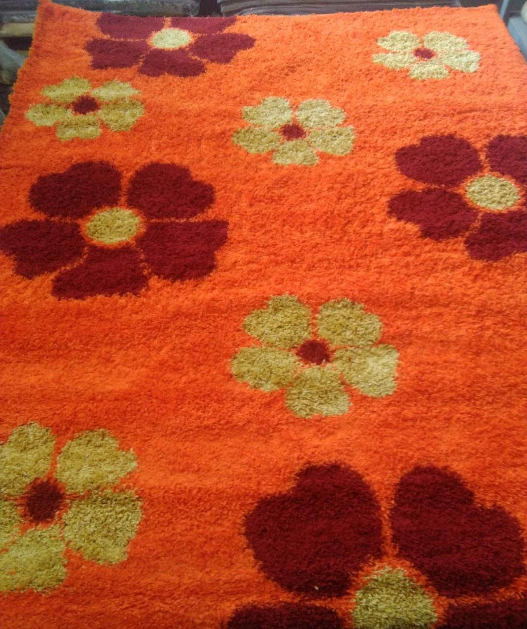 Ковер 000 - ORANGE - Прямоугольник - коллекция KEOPS SHAGGY - фото 1