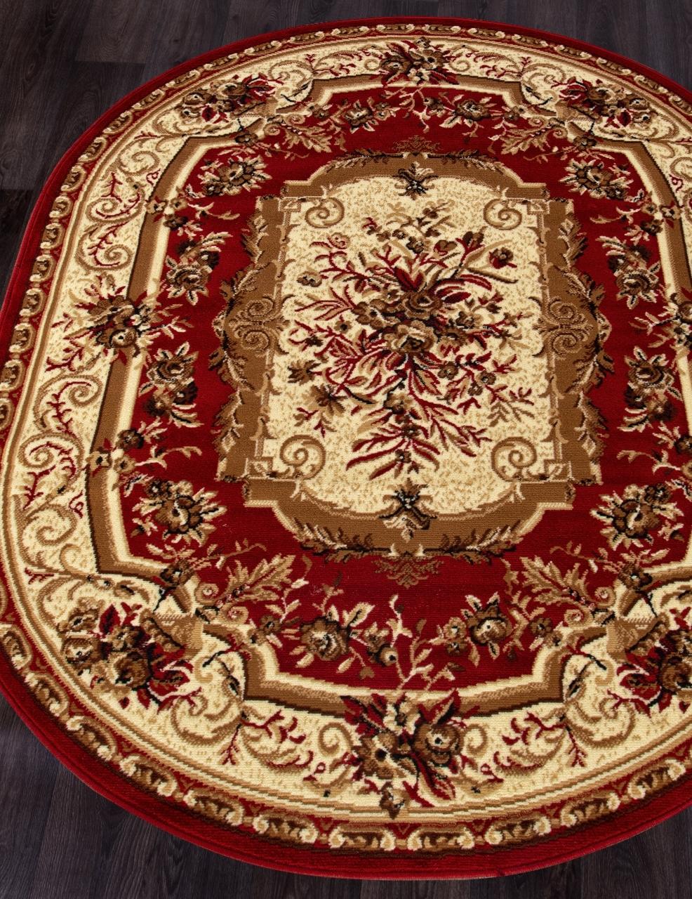 Ковер 5439 - RED - Овал - коллекция LAGUNA - фото 1