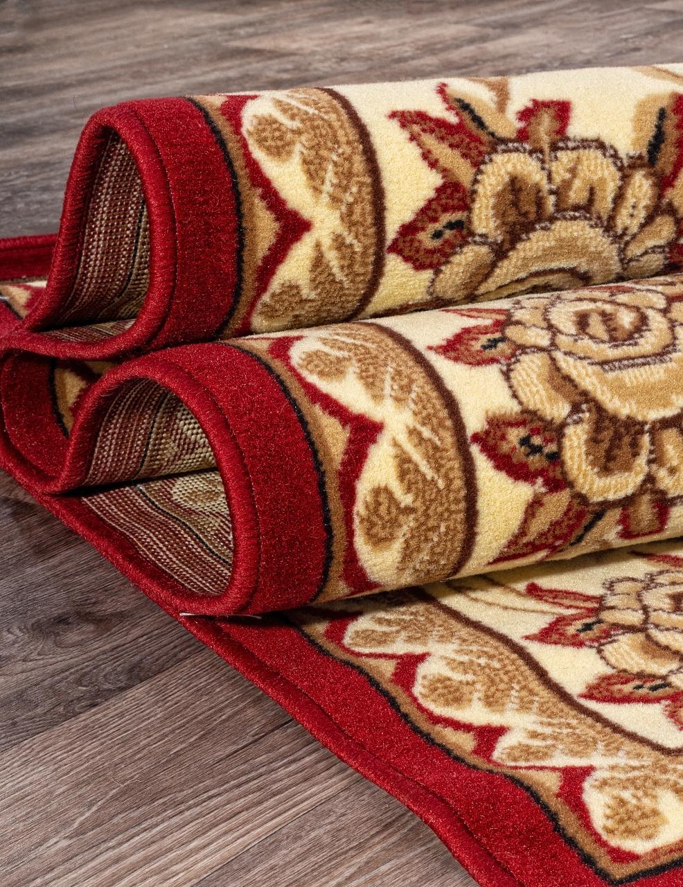 Ковер 5455 - RED - Прямоугольник - коллекция LAGUNA - фото 3