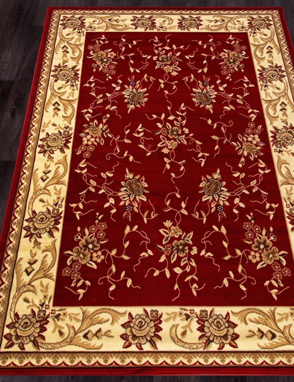 Ковер 5455 - RED - Прямоугольник - коллекция LAGUNA - фото 1
