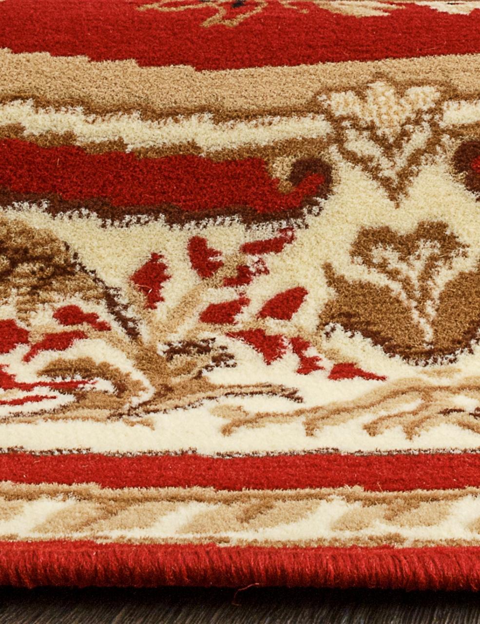 Ковер 5602 - RED - Овал - коллекция LAGUNA - фото 4