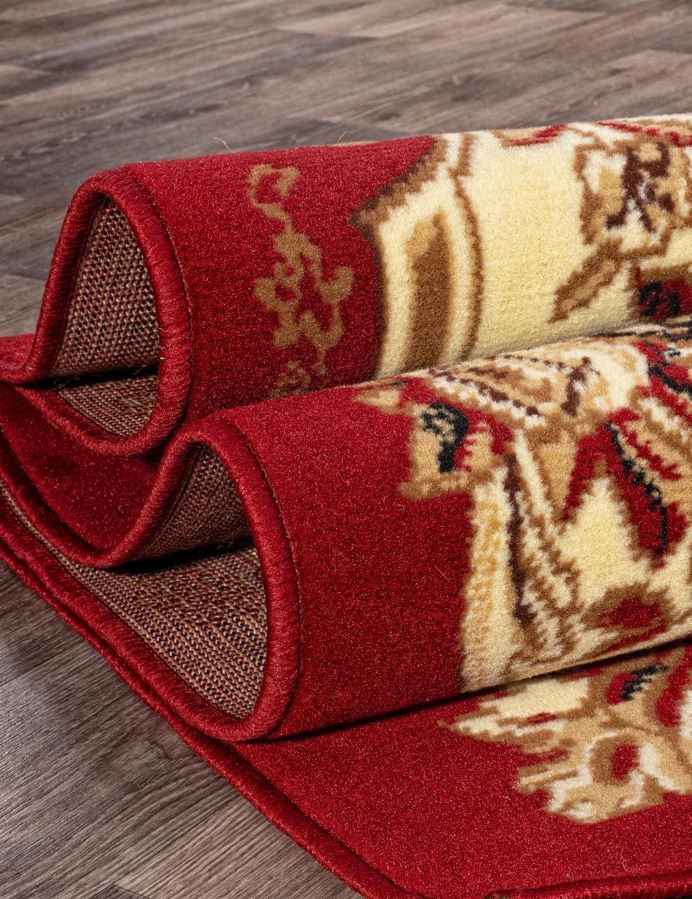 Ковер d017 - RED - Прямоугольник - коллекция LAGUNA - фото 3
