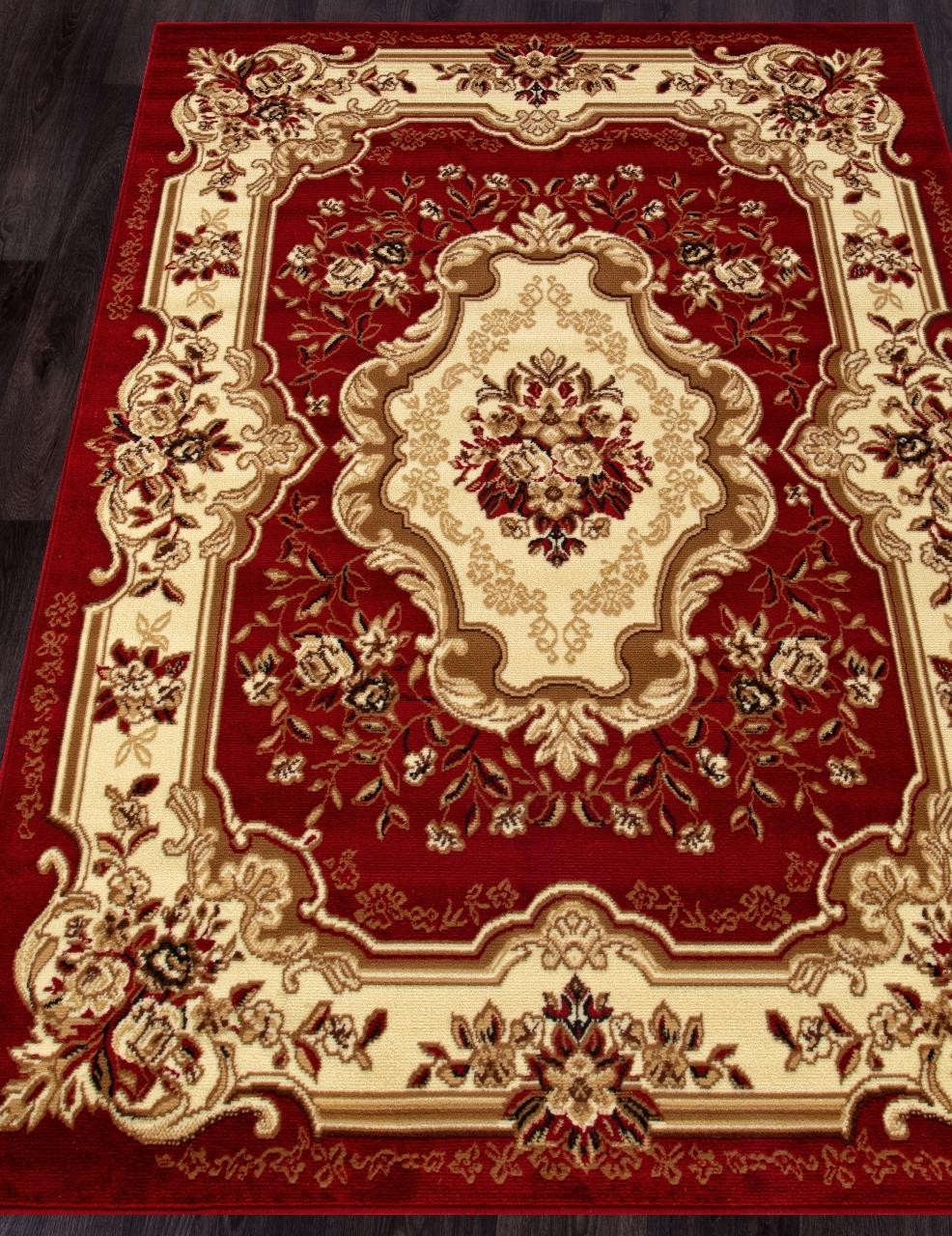 Ковер d017 - RED - Прямоугольник - коллекция LAGUNA - фото 1