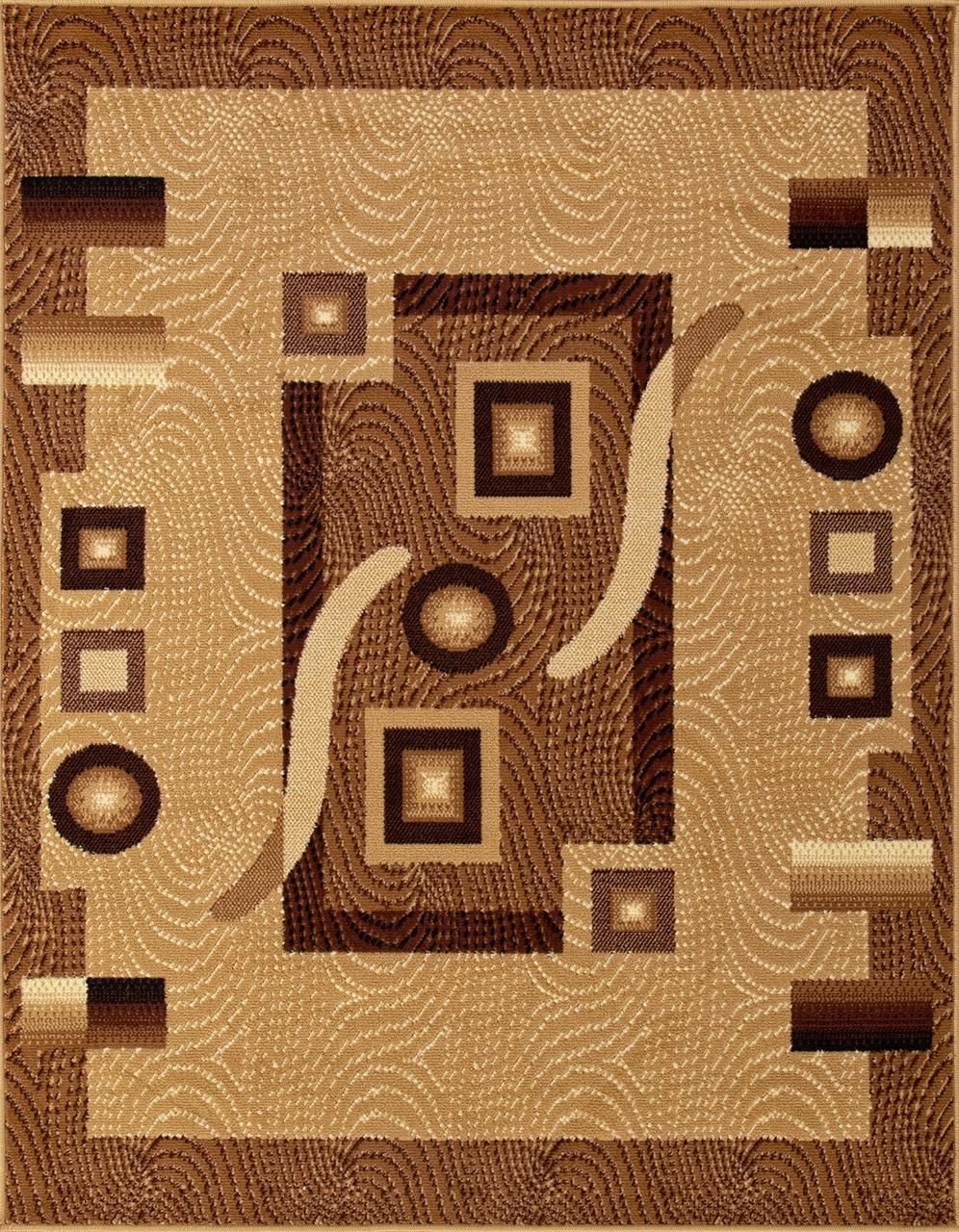 Ковер d043 - BEIGE - Прямоугольник - коллекция LAGUNA - фото 2