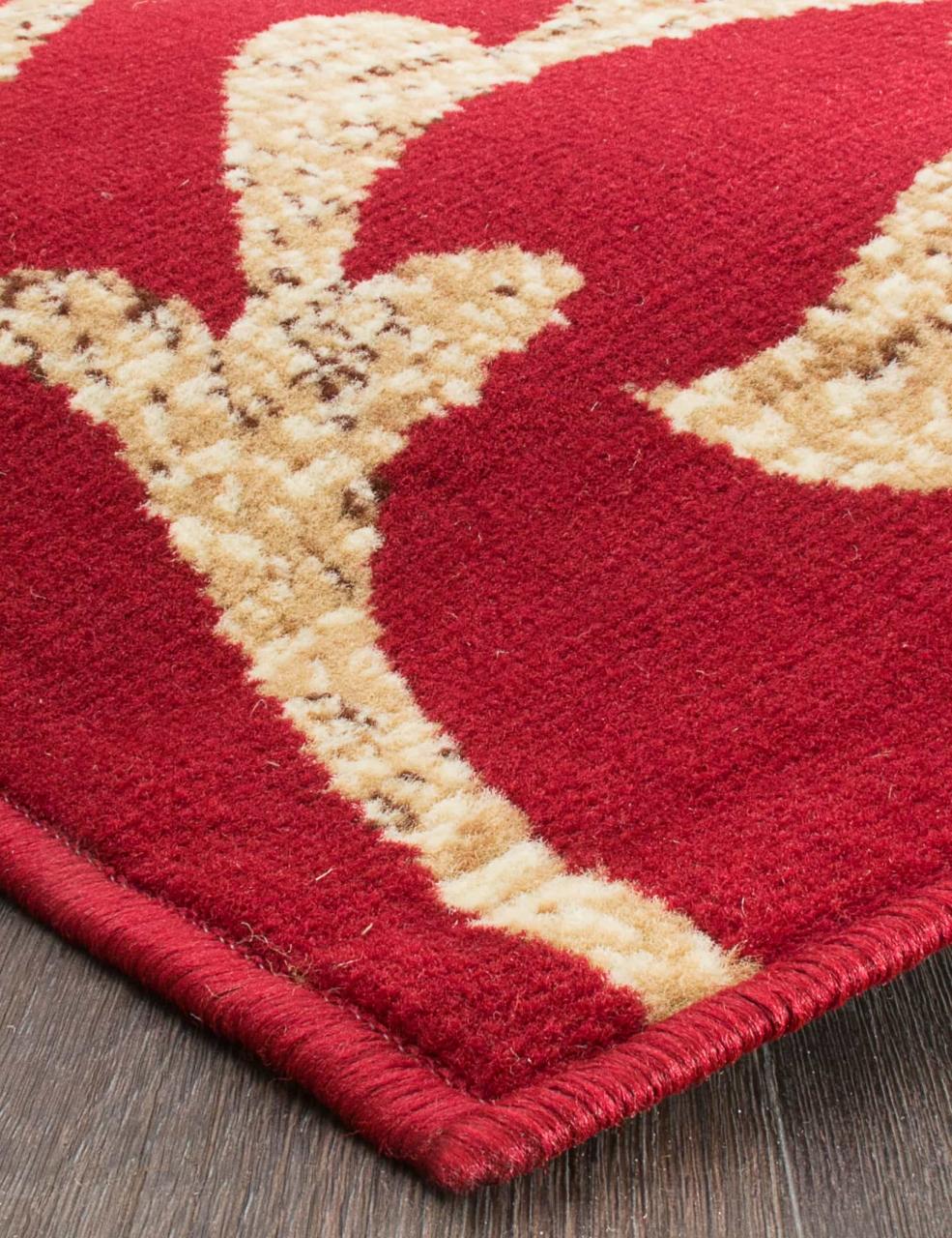 Ковер d184 - RED - Прямоугольник - коллекция LAGUNA - фото 4