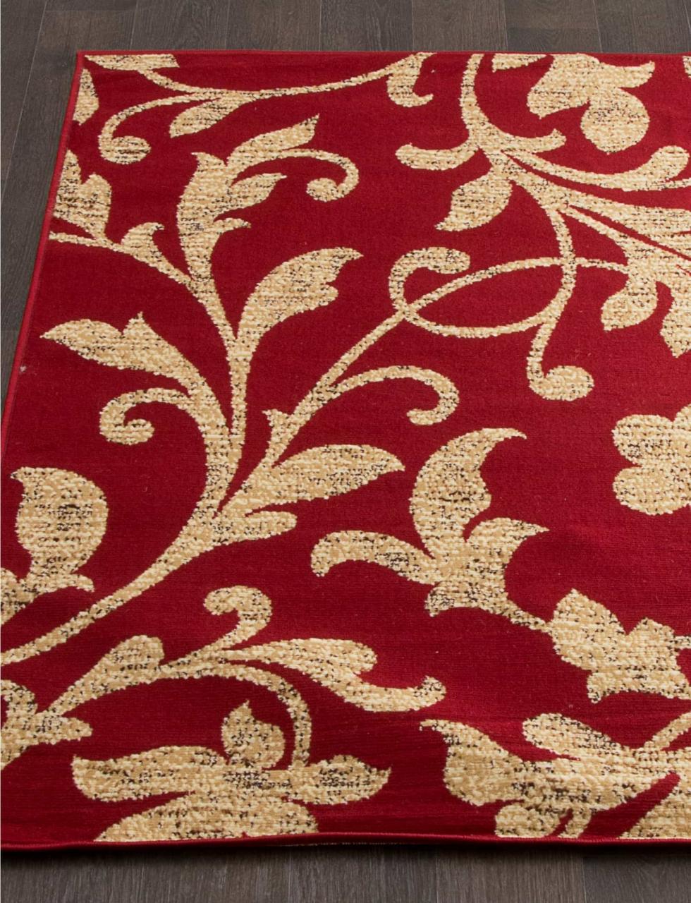 Ковер d184 - RED - Прямоугольник - коллекция LAGUNA - фото 1