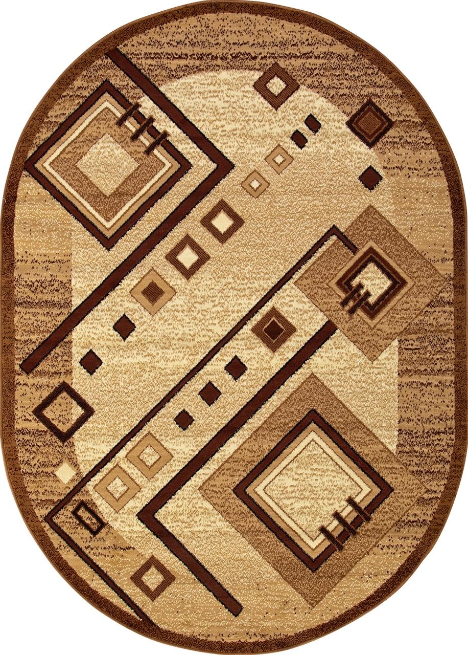 Ковер d188 - BEIGE - Овал - коллекция LAGUNA - фото 2