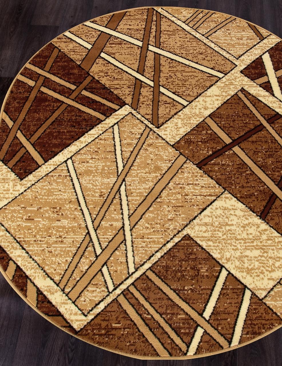 Ковер D487 - BEIGE - Овал - коллекция LAGUNA - фото 1