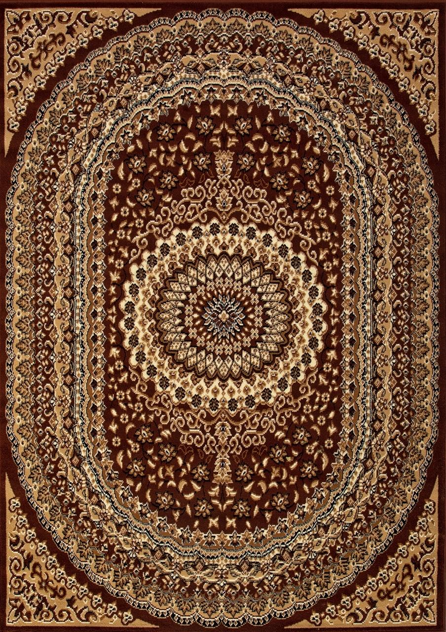 Ковер D504 - BROWN - Прямоугольник - коллекция LAGUNA - фото 2