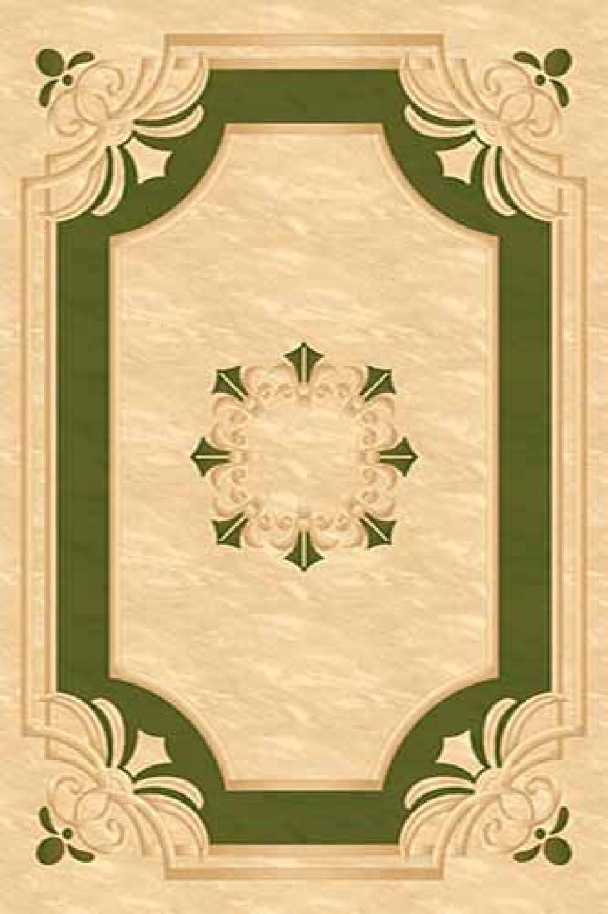 Ковер 5333 - CREAM-GREEN - Прямоугольник - коллекция LEONARDO - фото 1