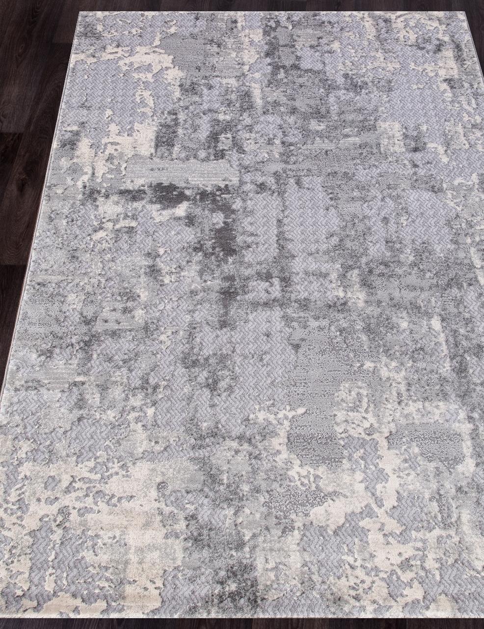 Ковер 1253C - COKEN D.GREY / K.GREY - Прямоугольник - коллекция MARDAN - фото 1