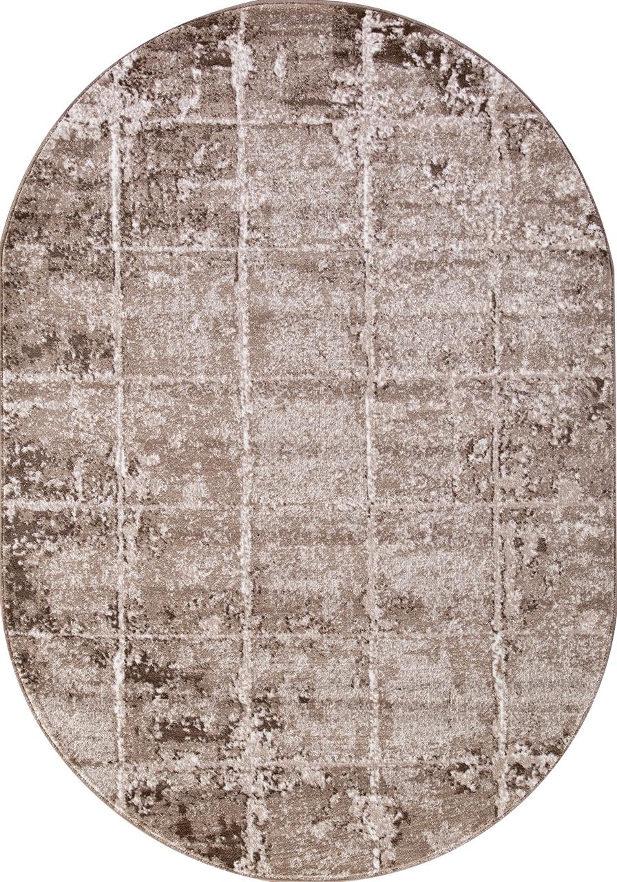 Ковер 1301A - VIZON COKEN / BROWN - Овал - коллекция MARDAN - фото 2