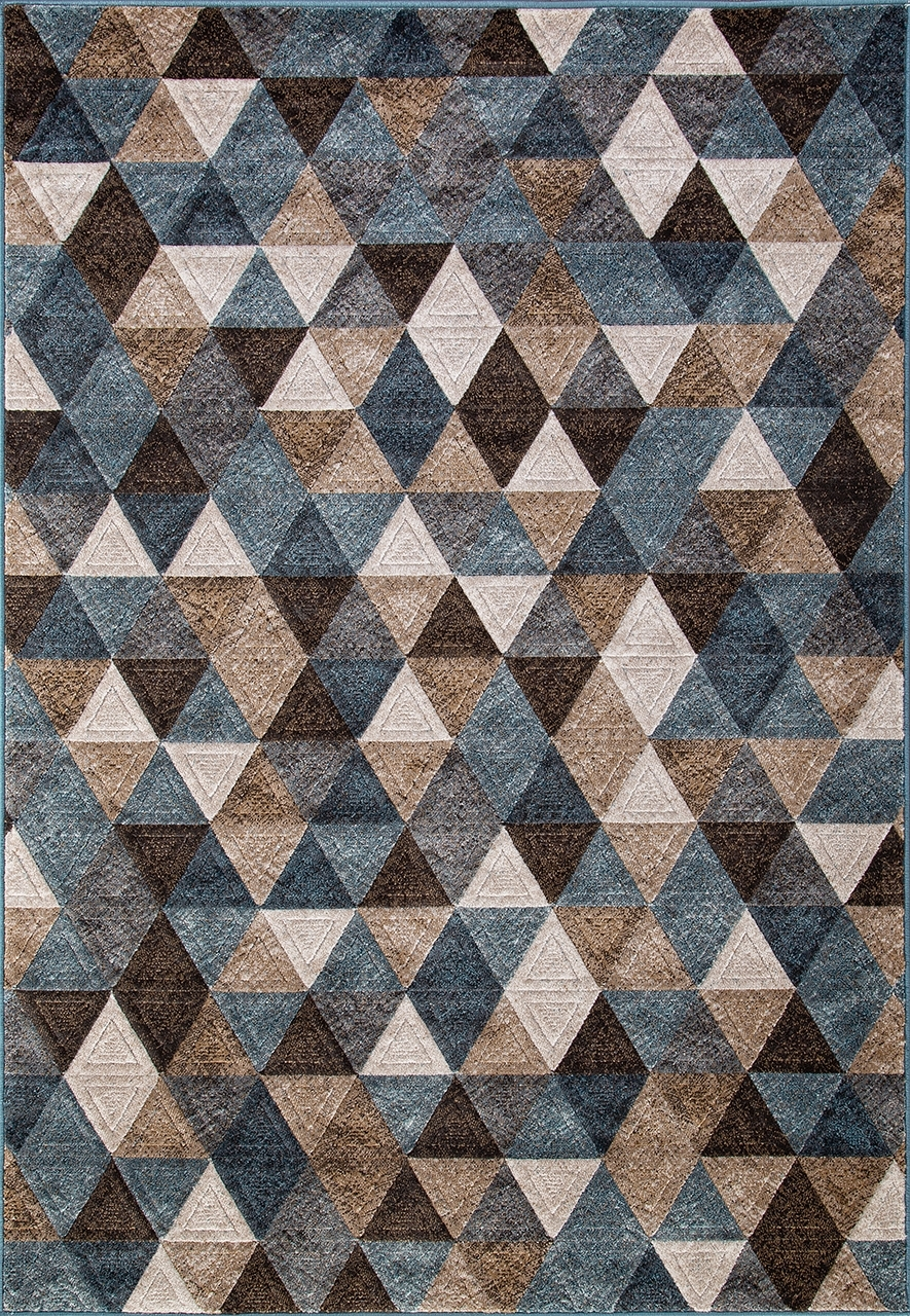 Ковер D578 - BEIGE-BLUE - Прямоугольник - коллекция MATRIX - фото 2