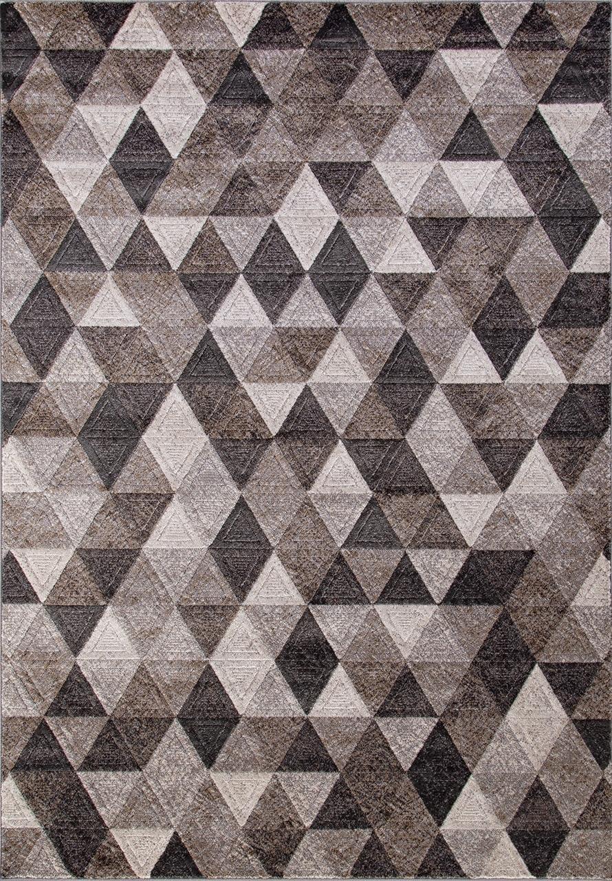 Ковер D578 - GRAY-BROWN - Прямоугольник - коллекция MATRIX - фото 2
