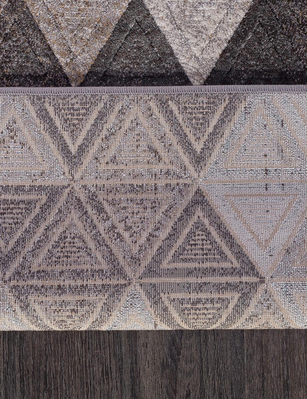 Ковер D578 - GRAY-BROWN - Прямоугольник - коллекция MATRIX - фото 5