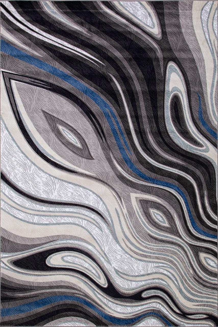 Ковер 1385 - GRAY - Прямоугольник - коллекция MEGA CARVING - фото 2