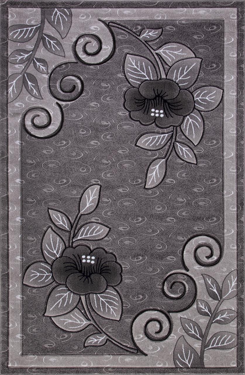 Ковер 4784 - GRAY - Прямоугольник - коллекция MEGA CARVING - фото 2