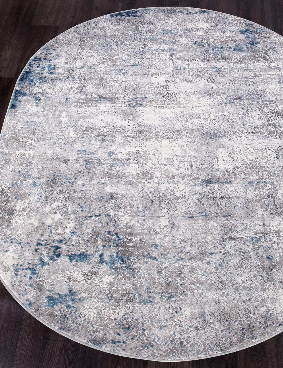 Ковер 9810 - ACIK GRI - Овал - коллекция MODA