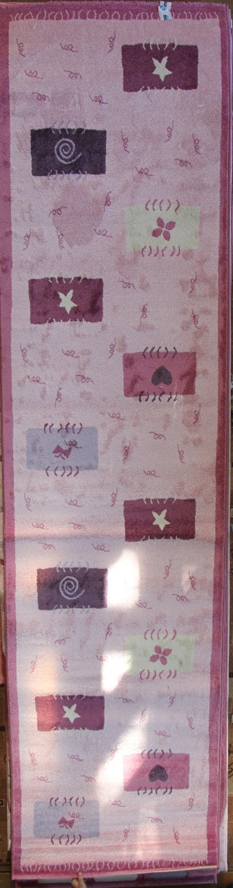 Ковер MD 16 - PINK - Прямоугольник - коллекция MODERNO