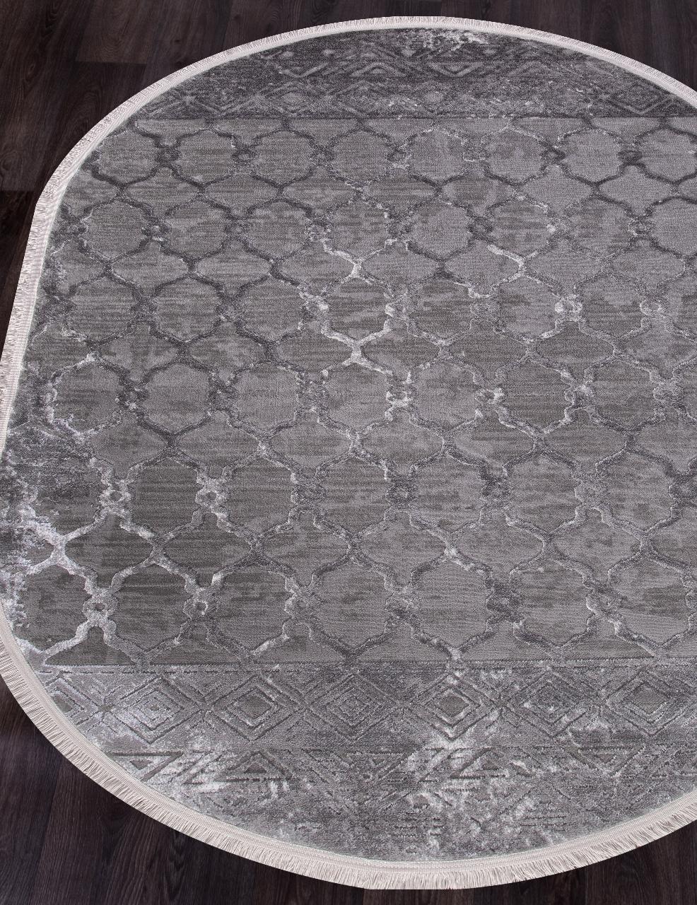 Ковер NP 224 - GREY - Овал - коллекция MOROCCO - фото 1