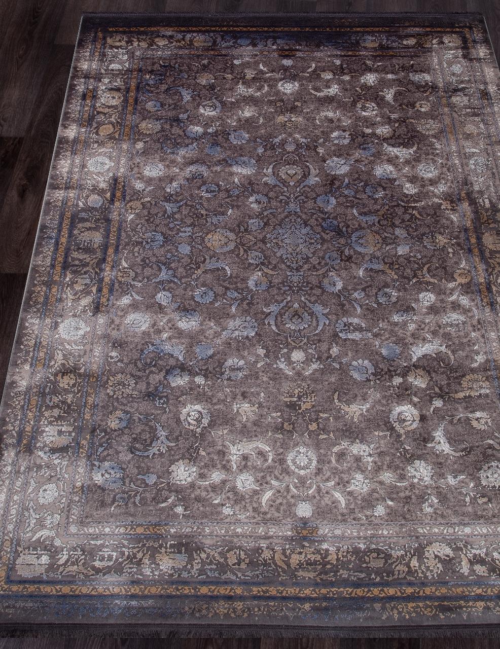 Ковер 7131 - GRAY - Прямоугольник - коллекция NOYAN - фото 1