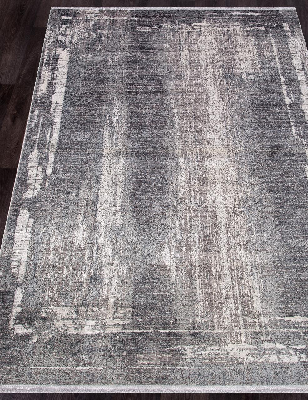 Ковер M214B - C.D.GRAY / CREAM - Прямоугольник - коллекция OLIMPOS