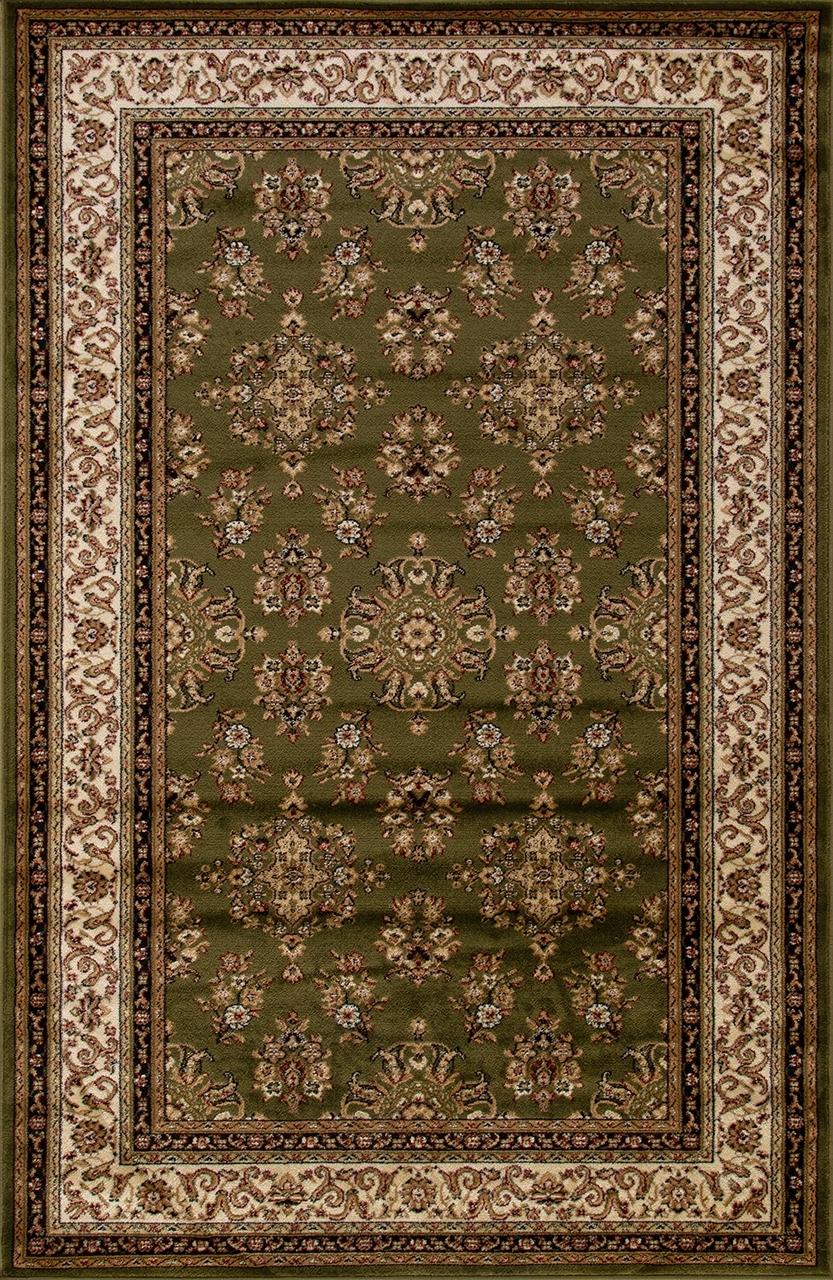 Ковер d064 - GREEN - Прямоугольник - коллекция OLYMPOS - фото 2