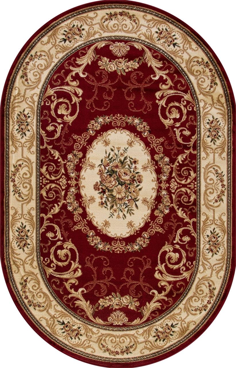 Ковер d066 - RED - Овал - коллекция OLYMPOS - фото 2