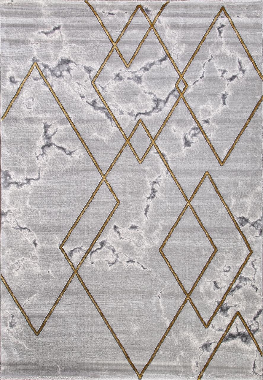 Ковер 04421E - GOLD / GOLD - Прямоугольник - коллекция OMEGA - фото 2