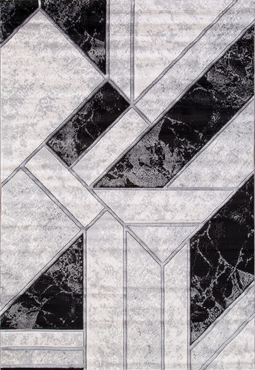 Ковер 04423S - SILVER / SILVER - Прямоугольник - коллекция OMEGA - фото 2