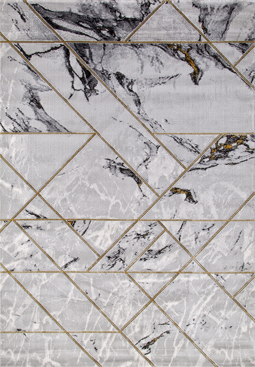 Ковер 04428E - GOLD / GOLD - Прямоугольник - коллекция OMEGA - фото 2