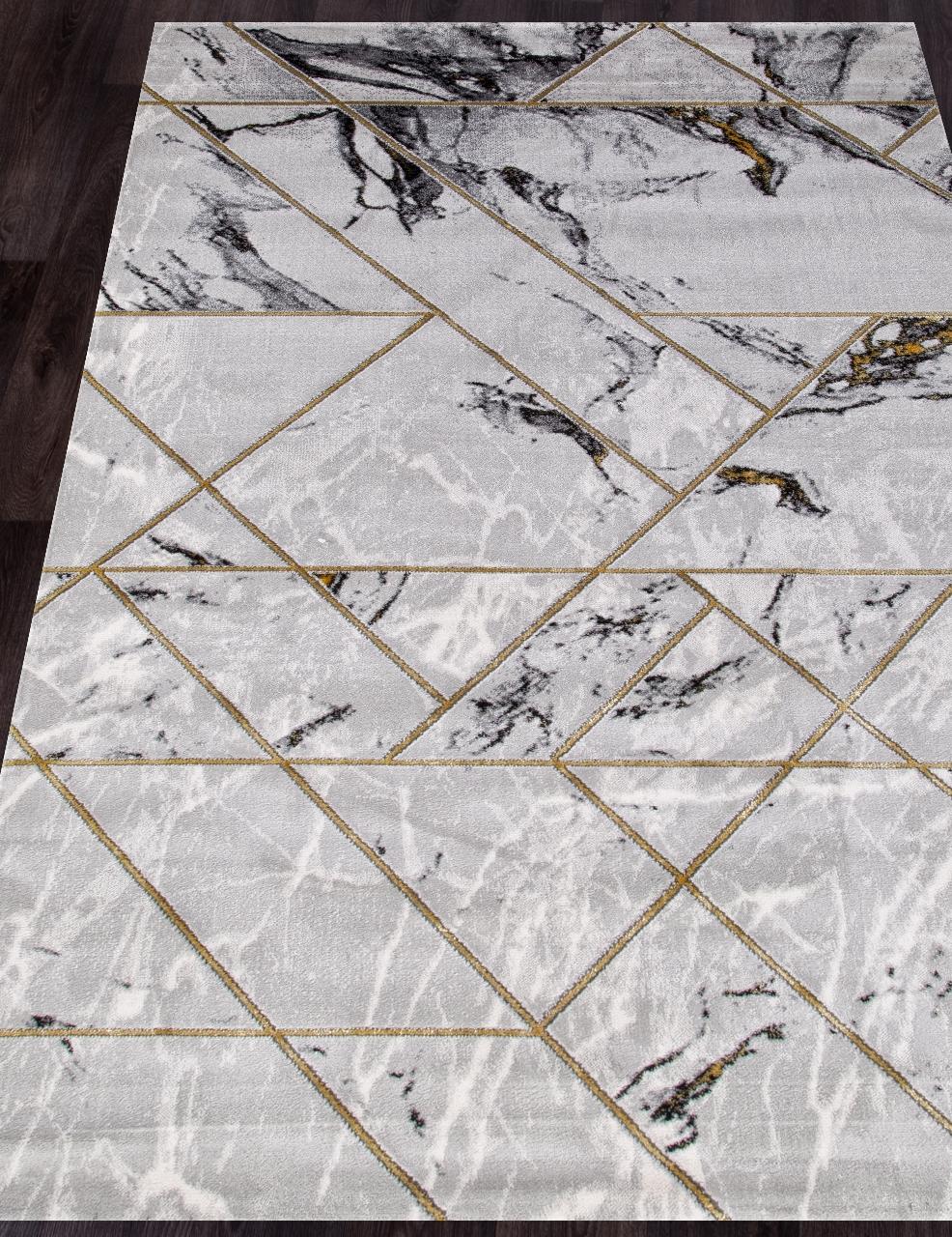 Ковер 04428E - GOLD / GOLD - Прямоугольник - коллекция OMEGA
