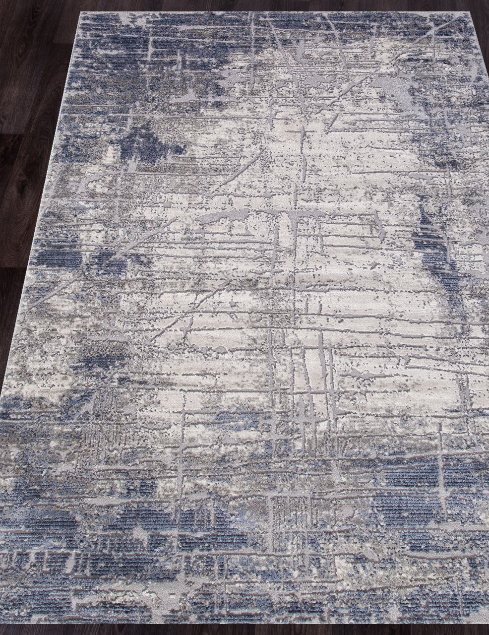 Ковер 5801A - BLUE - Прямоугольник - коллекция OPERA - фото 1
