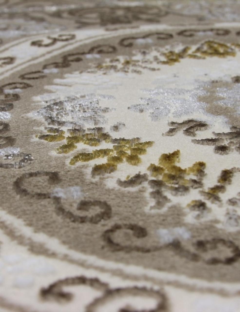 Ковер 07823Y - POLY.C.BEJ / POLY.C. - Овал - коллекция Pacha - фото 4