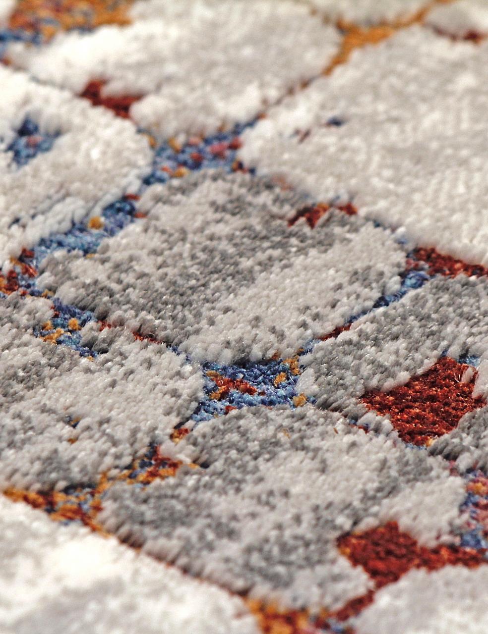 Ковер 7253A - WHITE / WHITE - Прямоугольник - коллекция PAMIR - фото 3