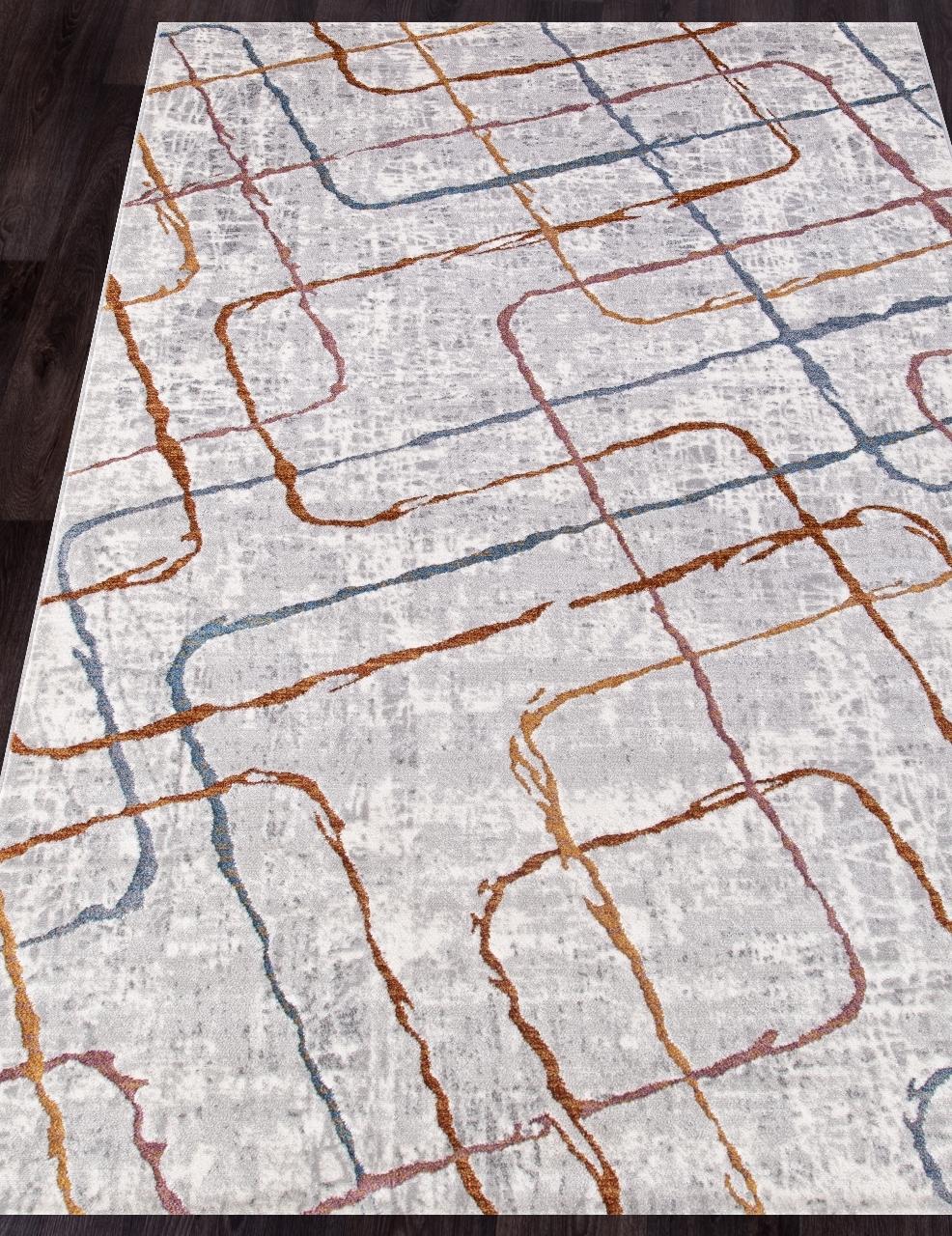 Ковер 7256A - L.GREY / L.GREY - Прямоугольник - коллекция PAMIR - фото 1