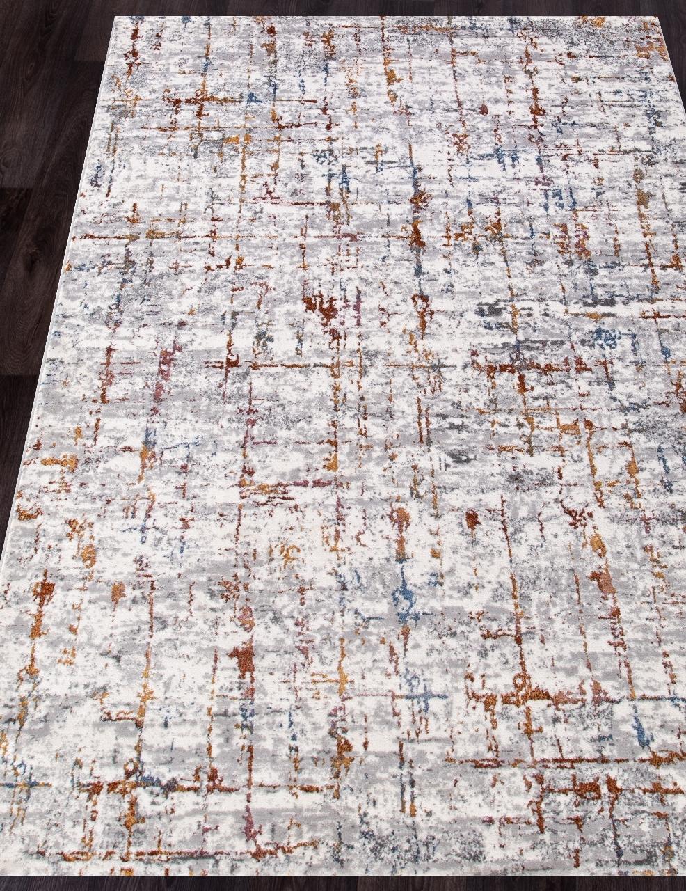 Ковер 7261A - L.GREY / L.GREY - Прямоугольник - коллекция PAMIR - фото 1
