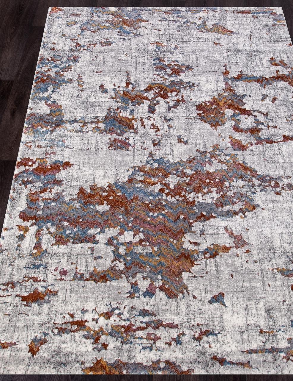 Ковер 7346A - L.GREY / L.GREY - Прямоугольник - коллекция PAMIR - фото 1