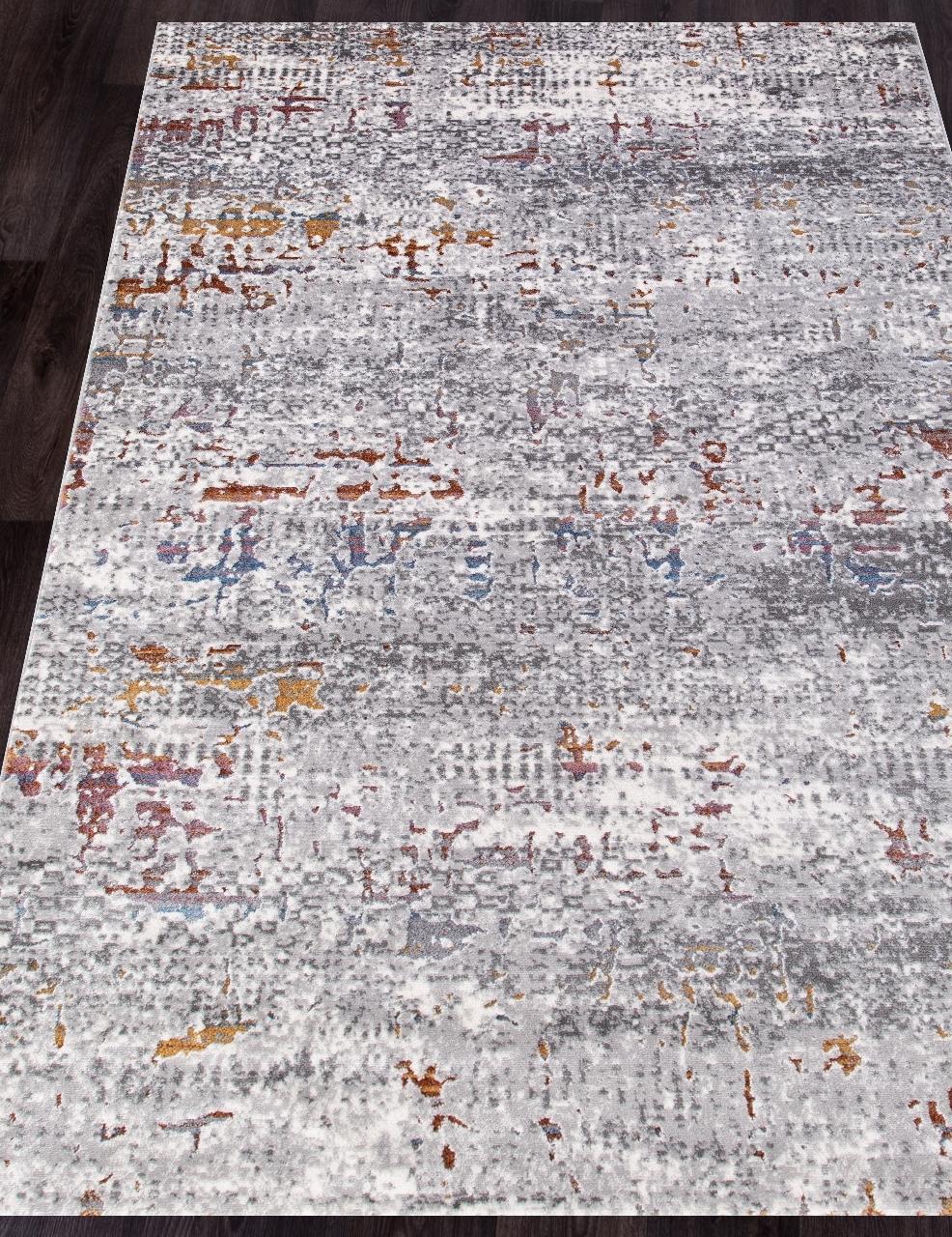 Ковер 7347A - L.GREY / L.GREY - Прямоугольник - коллекция PAMIR - фото 1