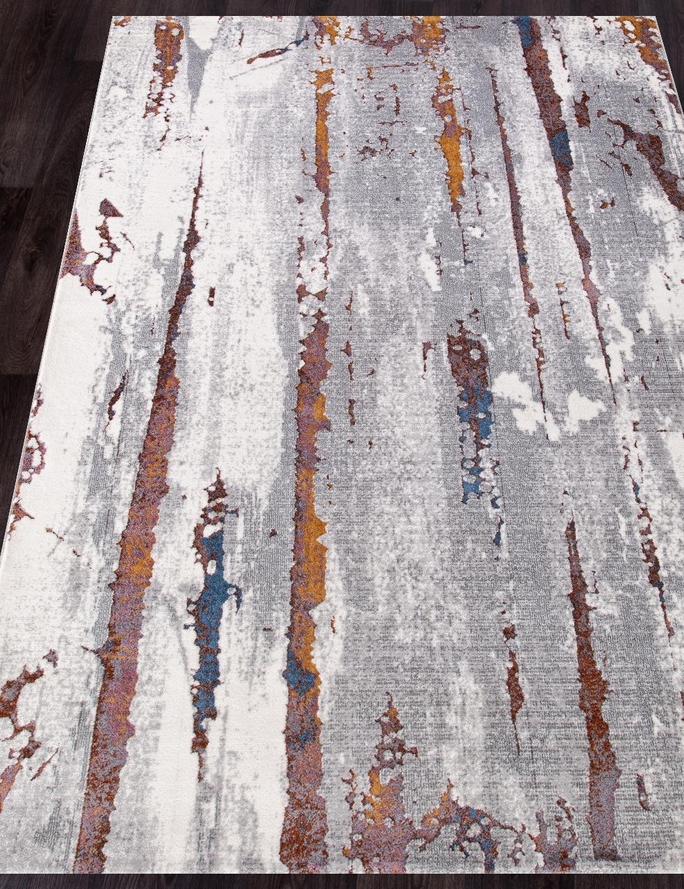 Ковер 7352A - L.GREY / L.GREY - Прямоугольник - коллекция PAMIR - фото 1