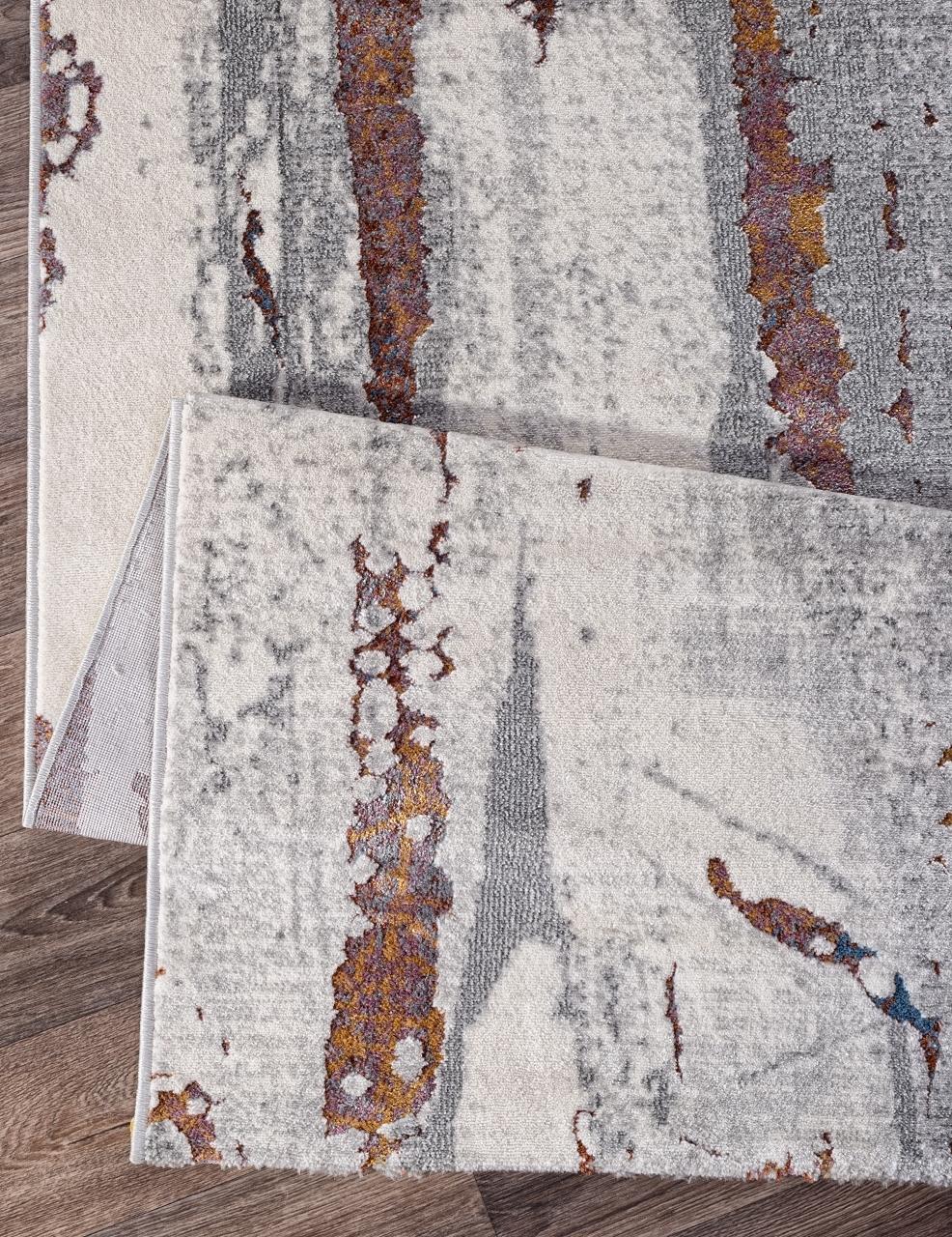 Ковер 7353A - L.GREY / L.GREY - Прямоугольник - коллекция PAMIR - фото 5
