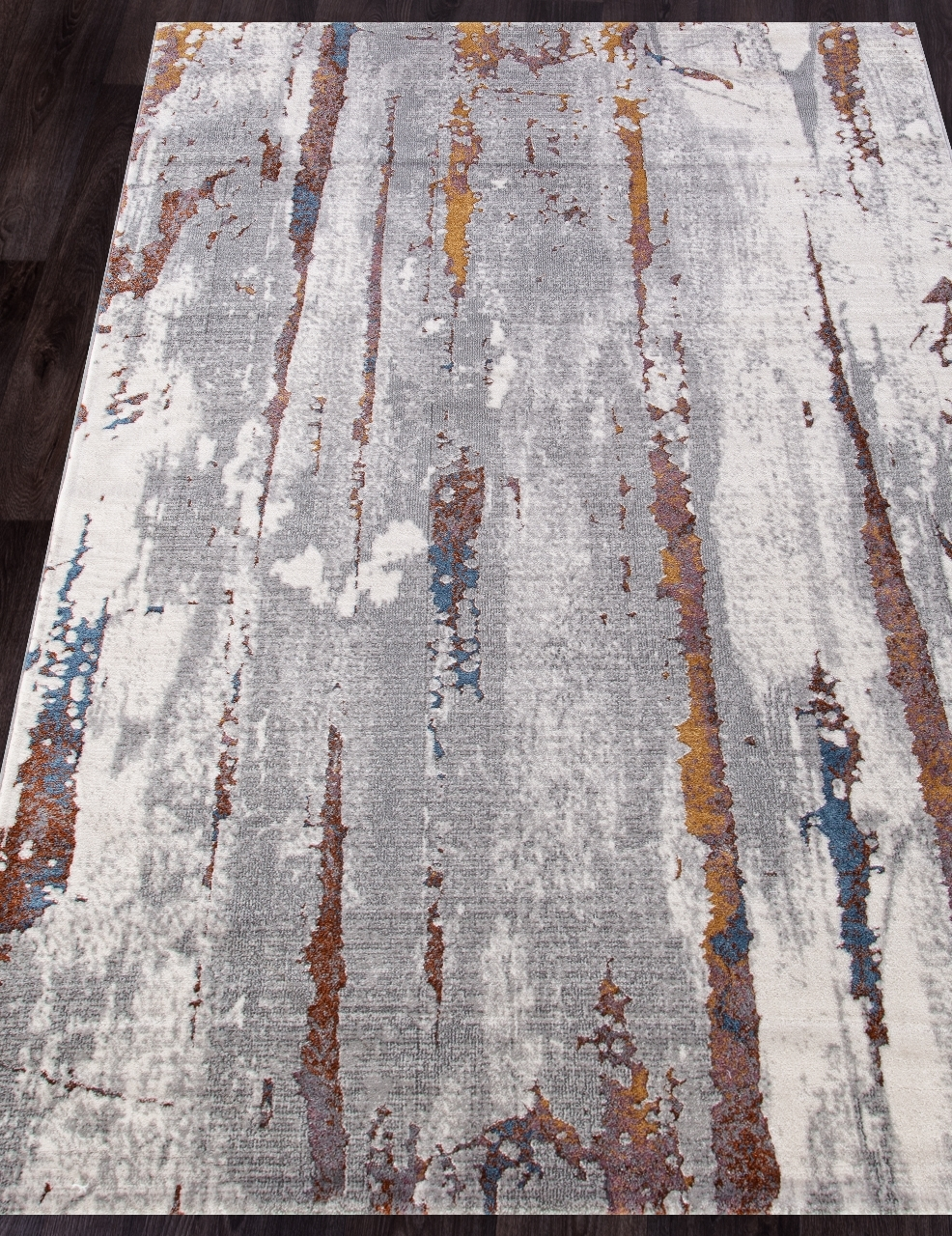 Ковер 7353A - L.GREY / L.GREY - Прямоугольник - коллекция PAMIR - фото 1