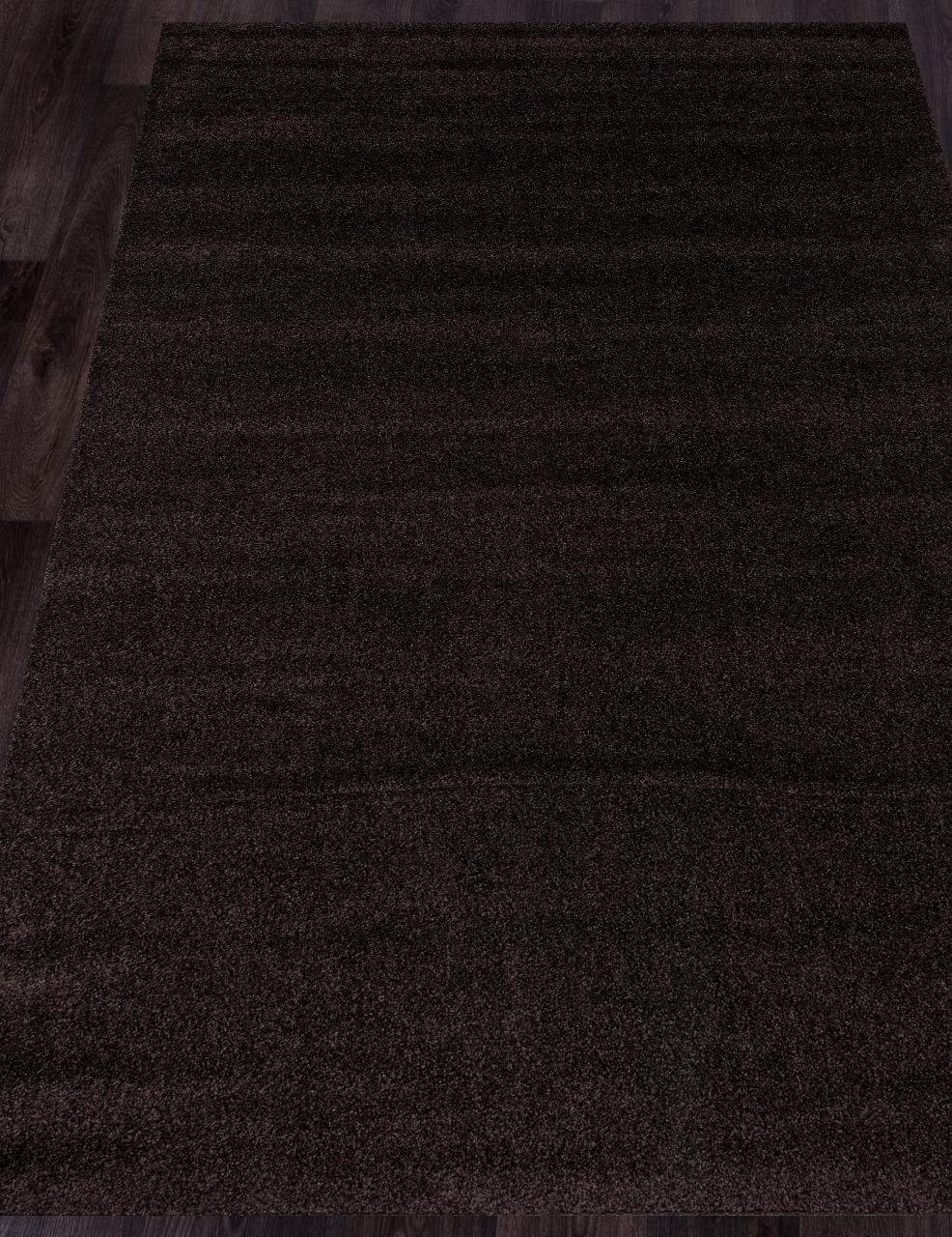Ковер t600 - BROWN - Прямоугольник - коллекция PLATINUM