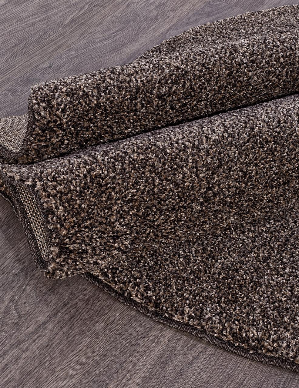 Ковер t600 - D.BEIGE-BROWN - Овал - коллекция PLATINUM - фото 3