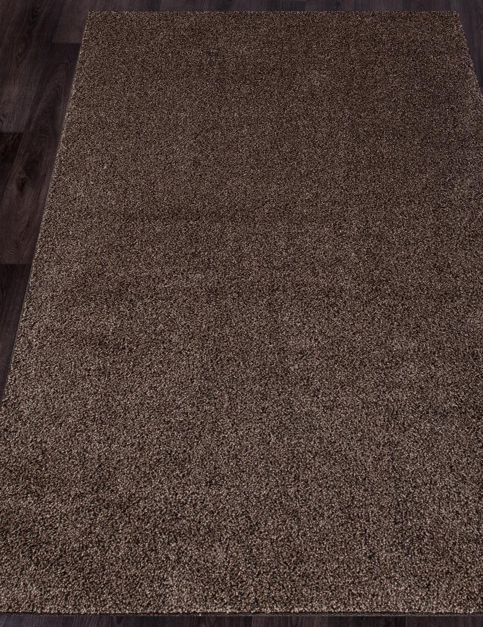 Ковер t600 - D.BEIGE-BROWN - Прямоугольник - коллекция PLATINUM