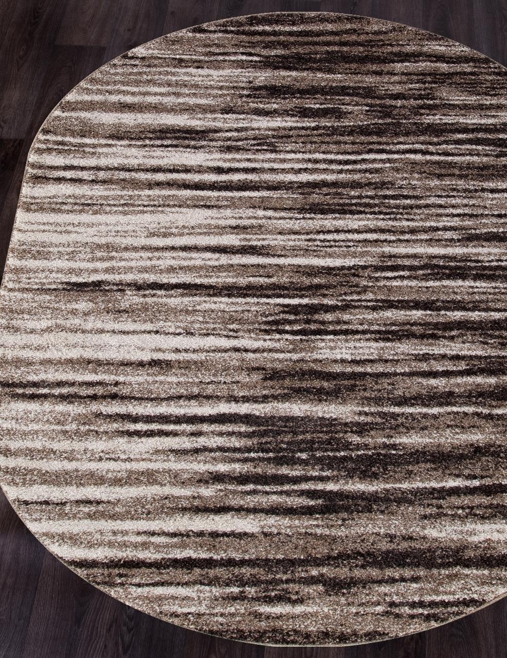 Ковер t623 - BEIGE - Овал - коллекция PLATINUM