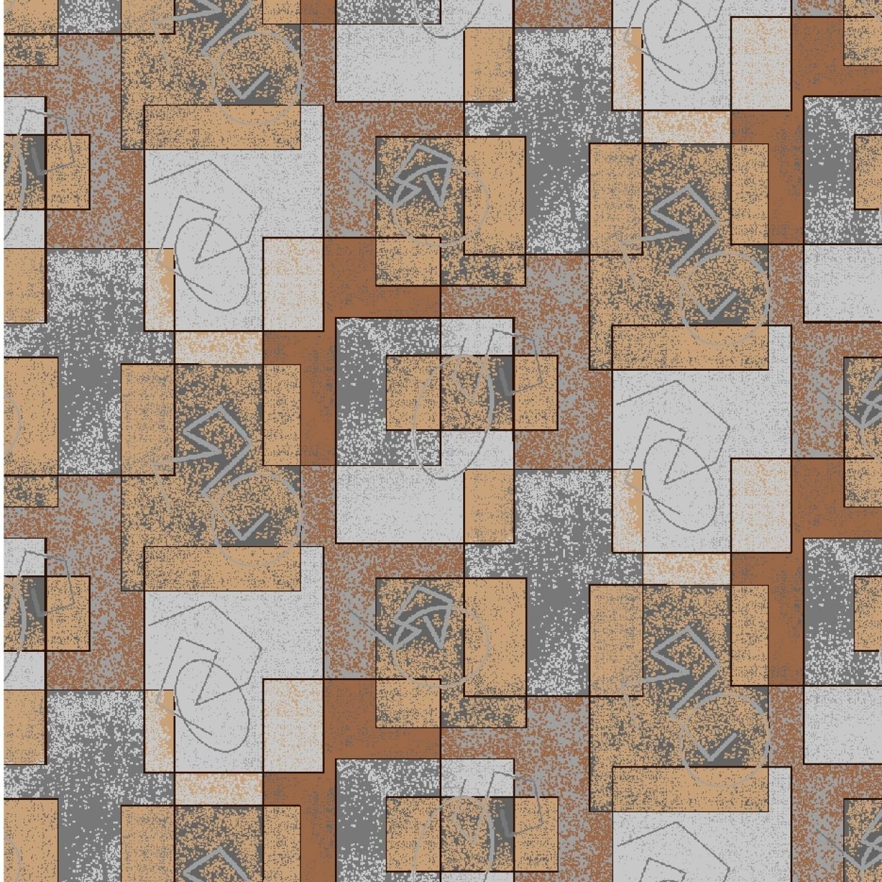 Ковер LABYRINT - 985 - Прямоугольник - коллекция Полотно принт обр B201K