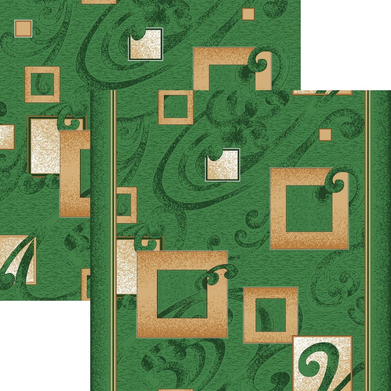 Ковровая дорожка p1023m5r - 36 - коллекция принт 8-ми цветная дорожка